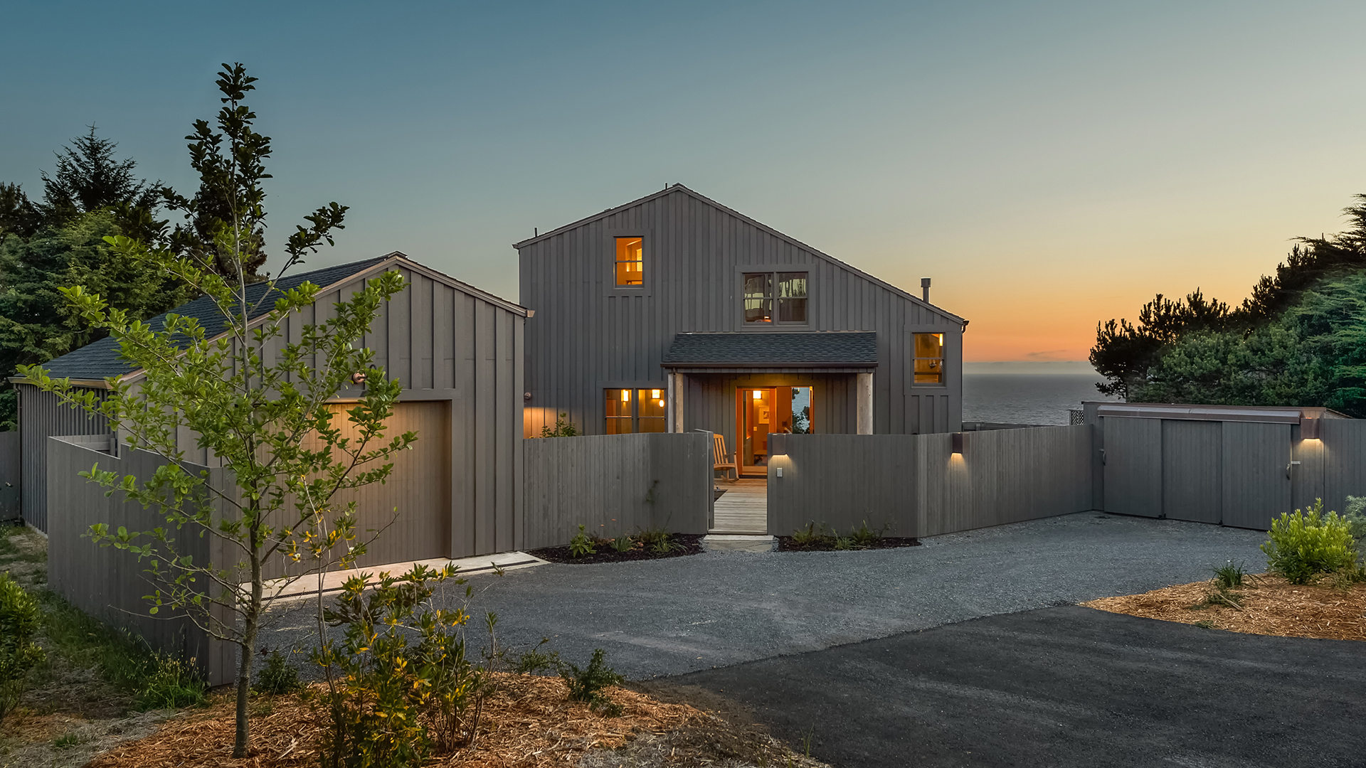 New Sea Ranch Home with Expansive Ocean Views