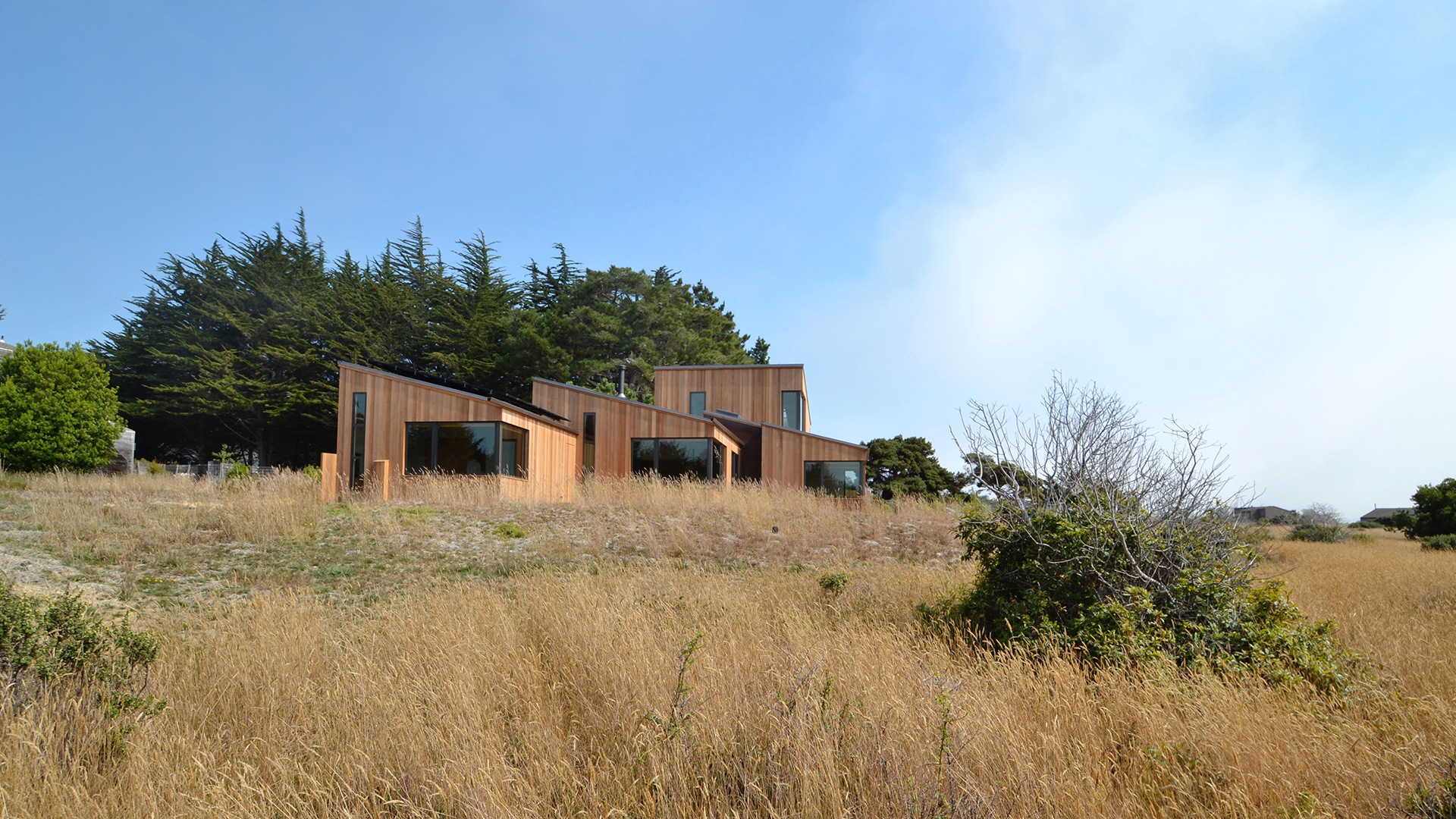 New Solar Home on The Sea Ranch