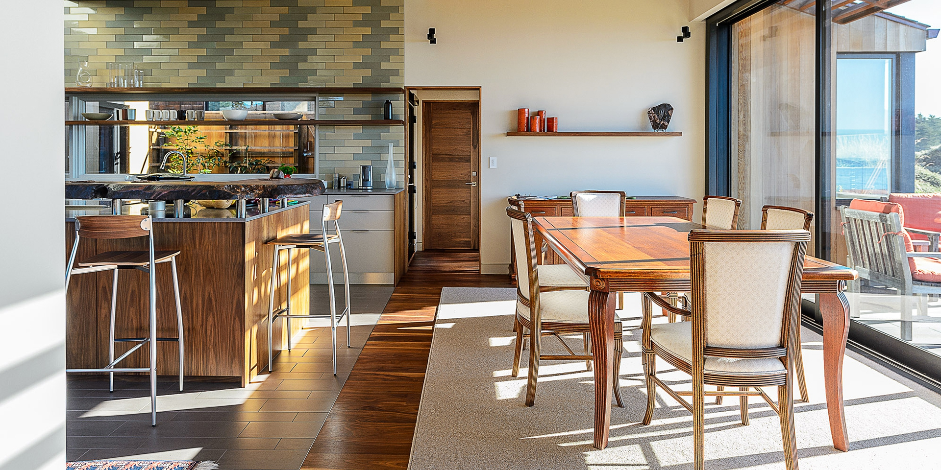 Leed platinum home on the sea ranch empire contracting inc for Leed platinum home