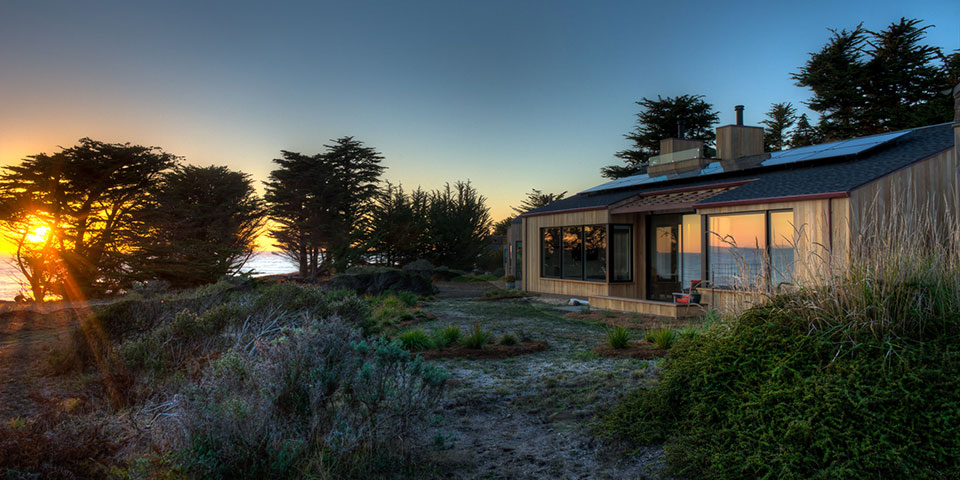 LEED Platinum Home on the Sea Ranch
