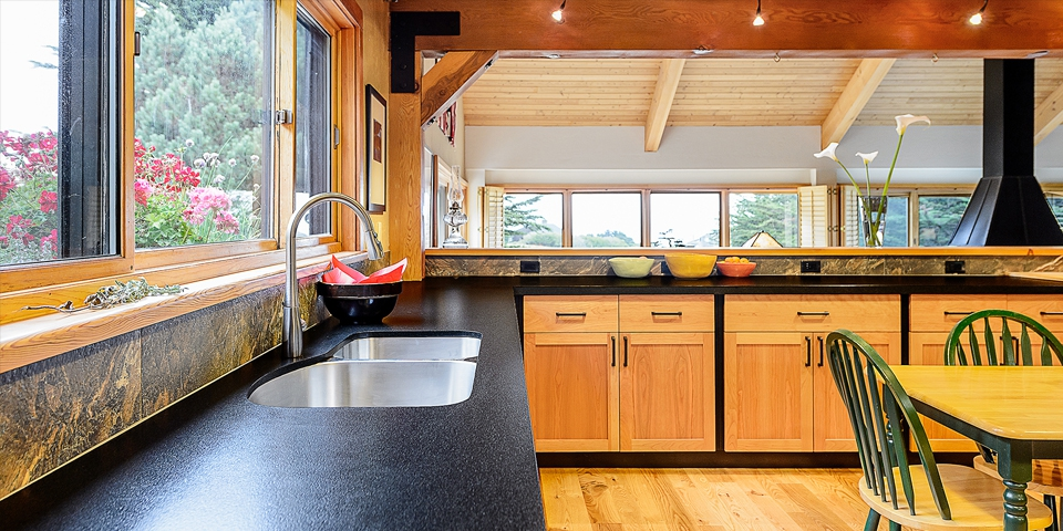 Beautiful Sea Ranch Kitchen Remodel