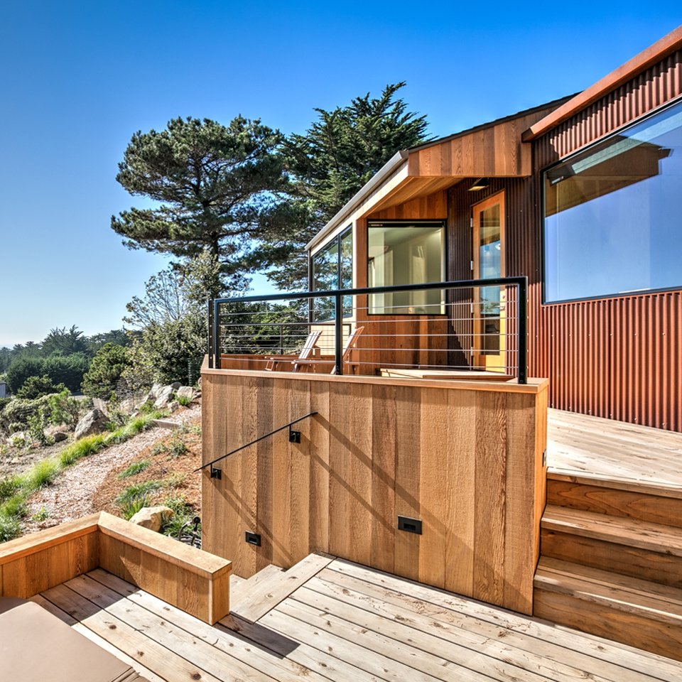 Custom Hillside Sea Ranch Home