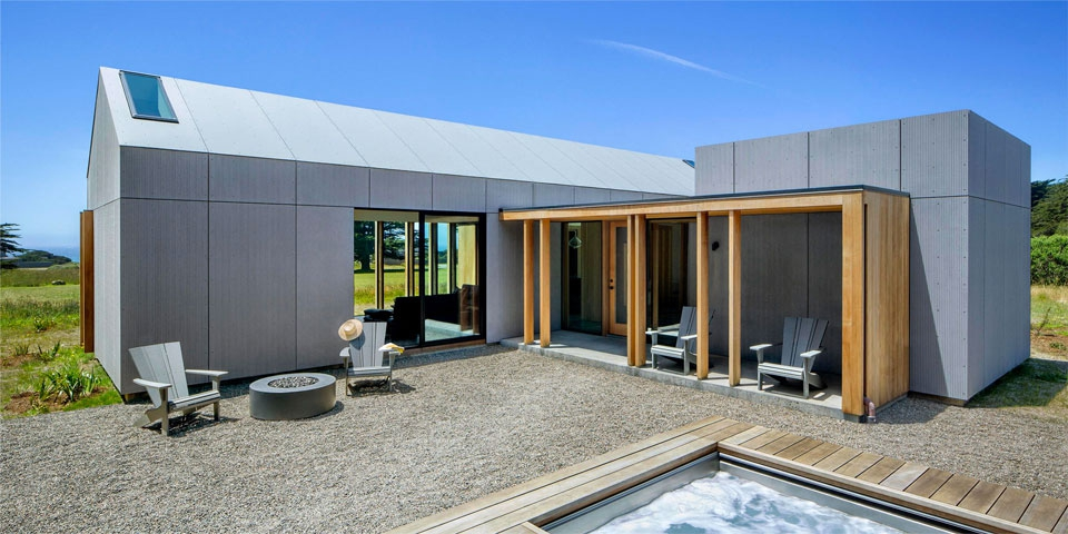 New North End Sea Ranch Home